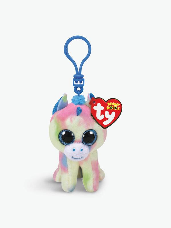 Blitz Blue Unicorn Boo Key Clip