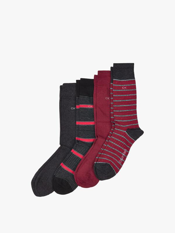 Gift Tin 4 Pack Cotton Blend Socks