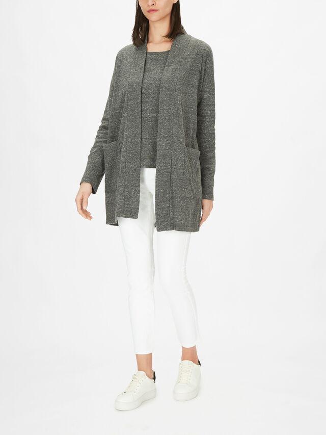 Double Layer Organic Cotton High Collar Jacket