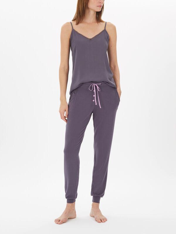 Laura Grey Knit Pant