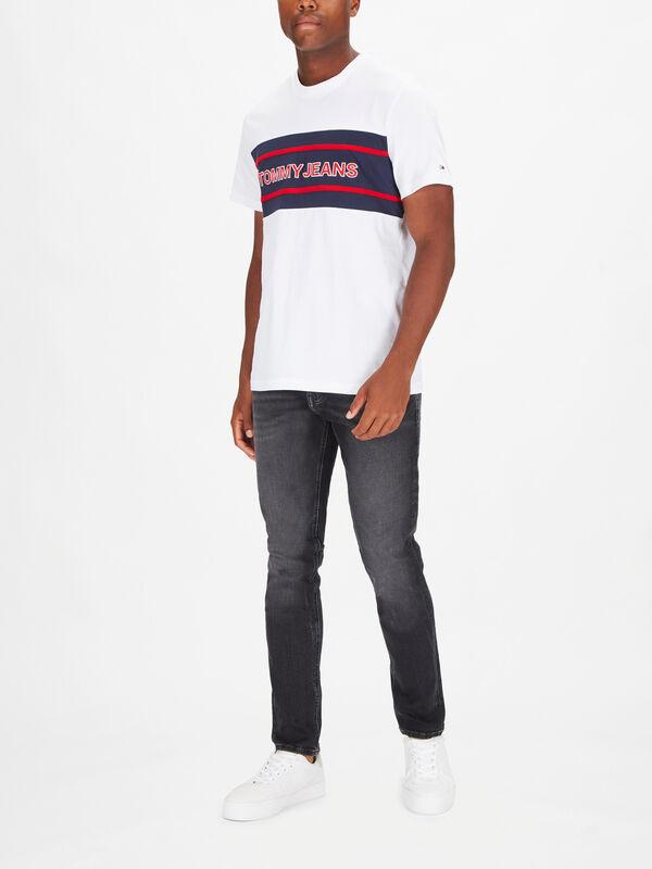 Stripe Colorblock T-shirt