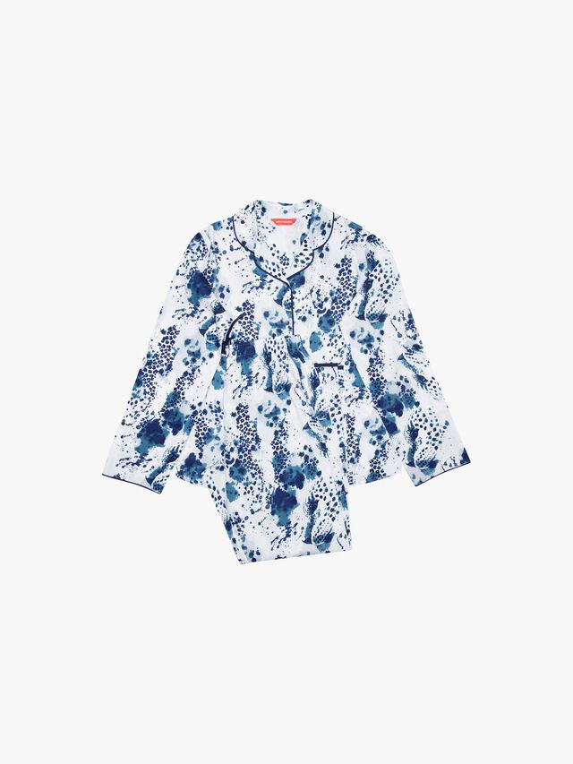 Ellie Leopard Print Long Sleeve Pyjama