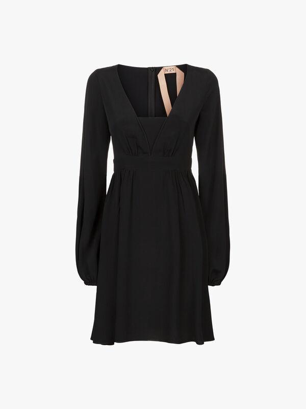 Long Sleeve Short Dress
