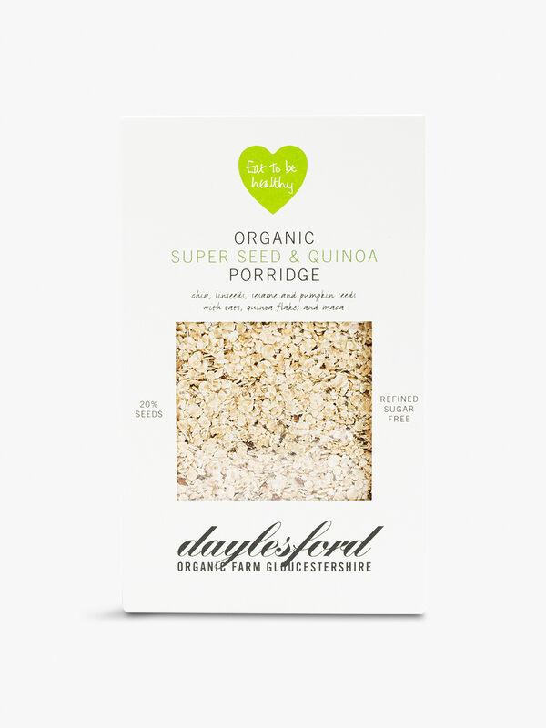 Organic Super Seed & Quinoa Porridge 450g