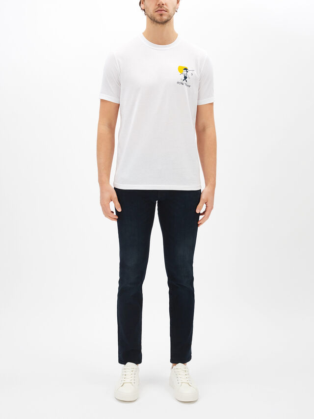 Monkey Back Print T-Shirt