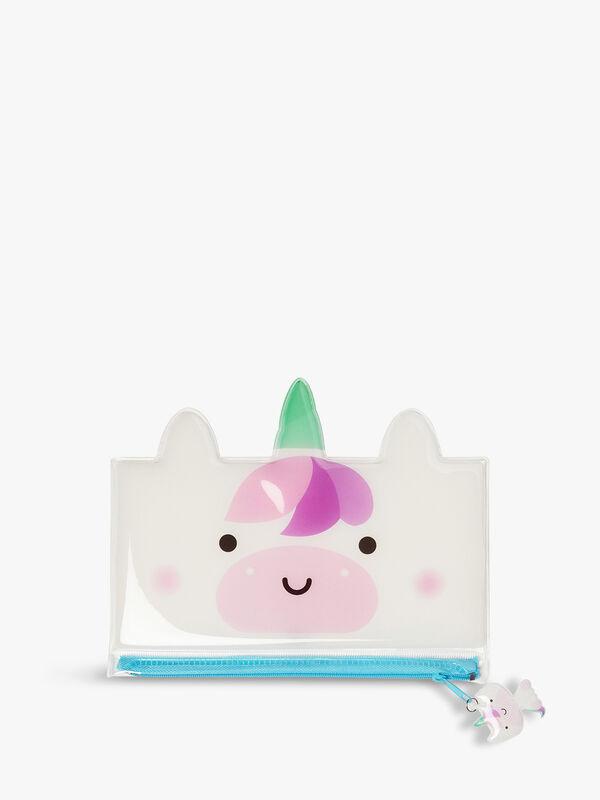 Unicorn Jelly Pencil Case