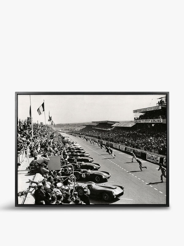 Le Mans Running Start by Zucarto, 1955