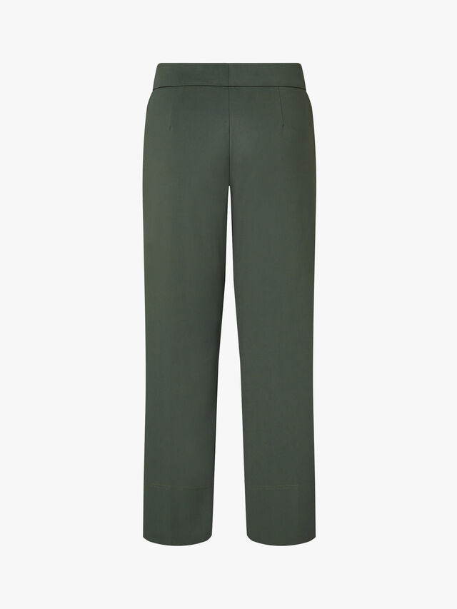 Manuele Cropped Cotton Pant