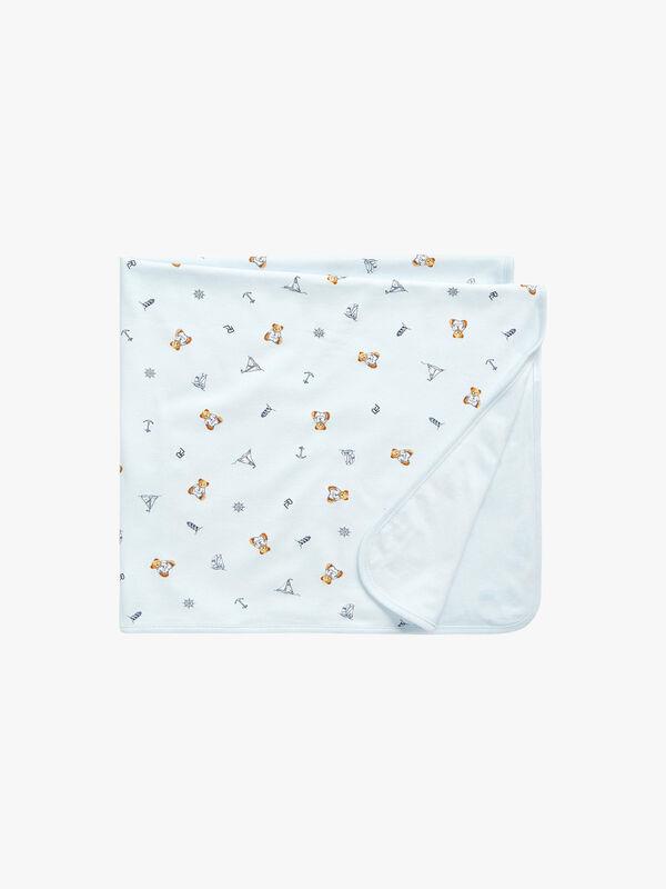 Printed Bear Blanket