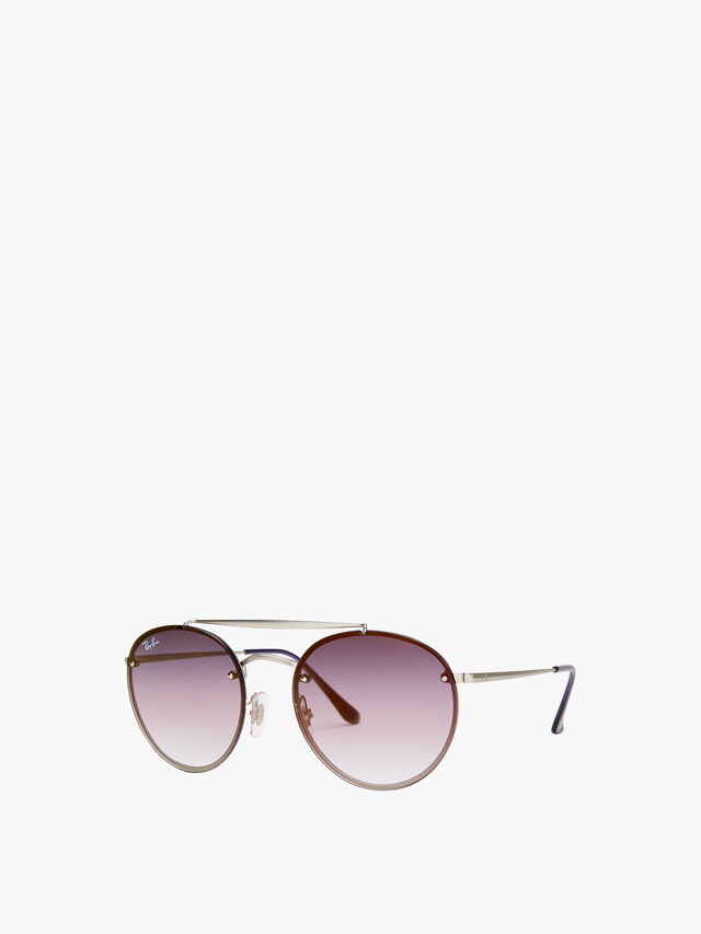 Double Brow Bar Sunglasses