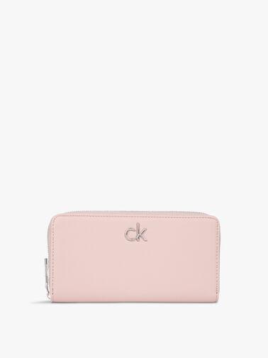 Re-lock Slim Large Zip Around Wallet