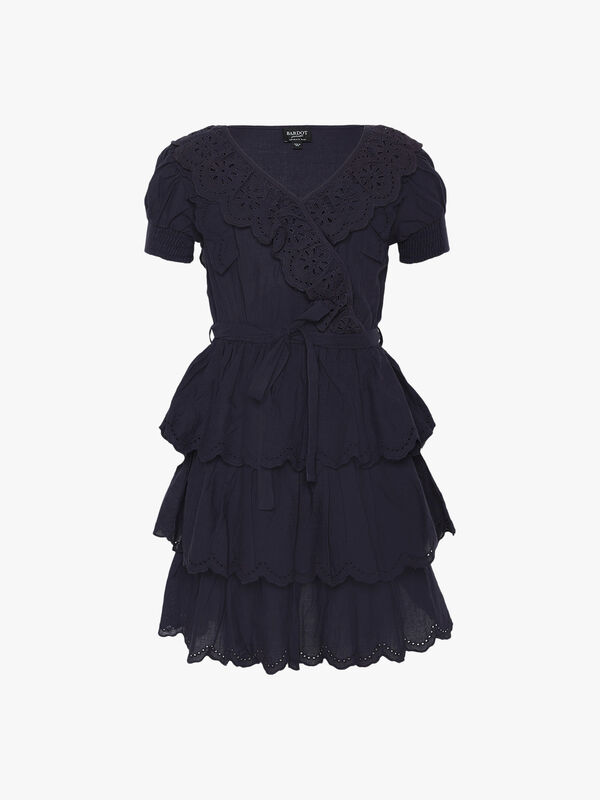 Cindy Broderie Dress