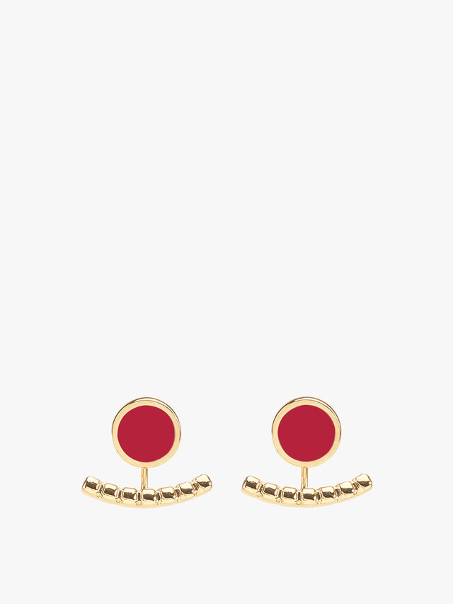 Comete Two Part Earring