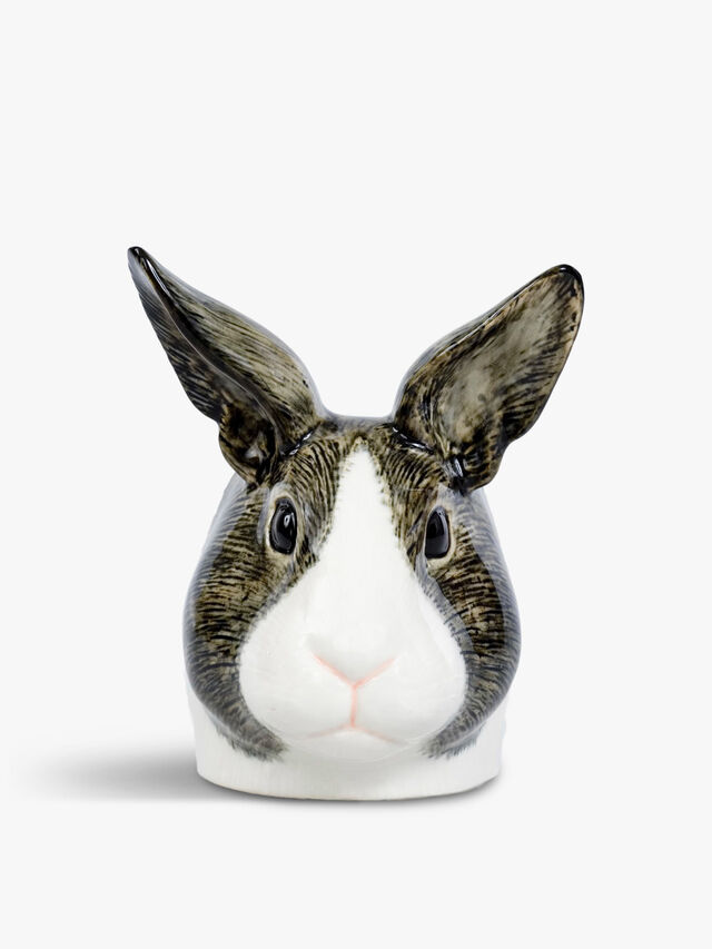Dutch Rabbit Face Egg Cup Pair