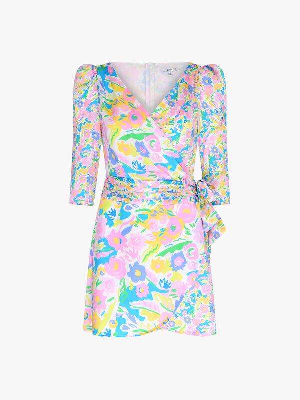 Ren Printed Short Dress