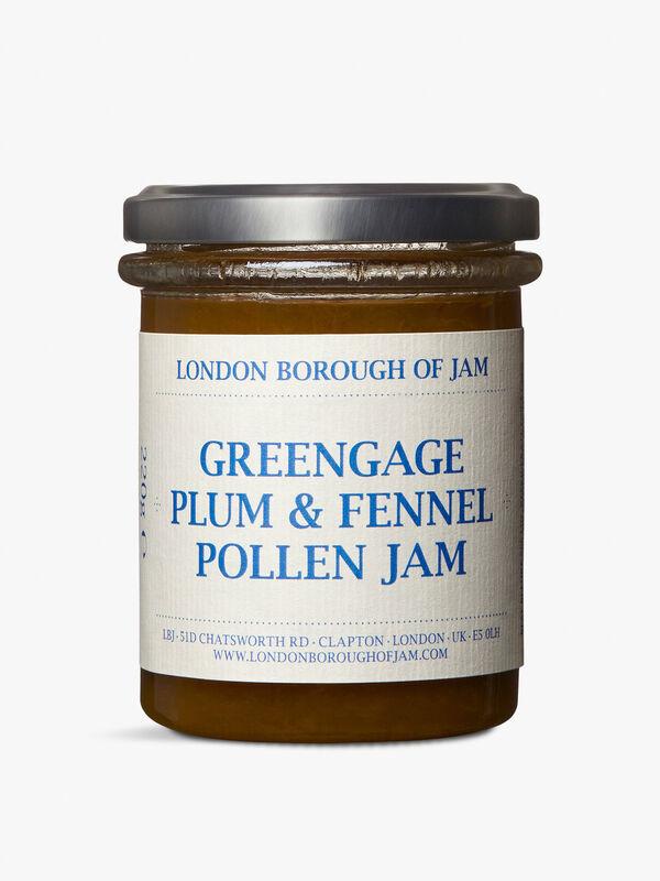 Greengage Plum and Fennel Pollen Jam