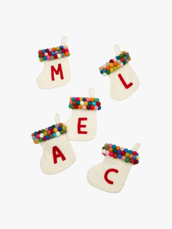 Mini Alphabet Stocking - Y
