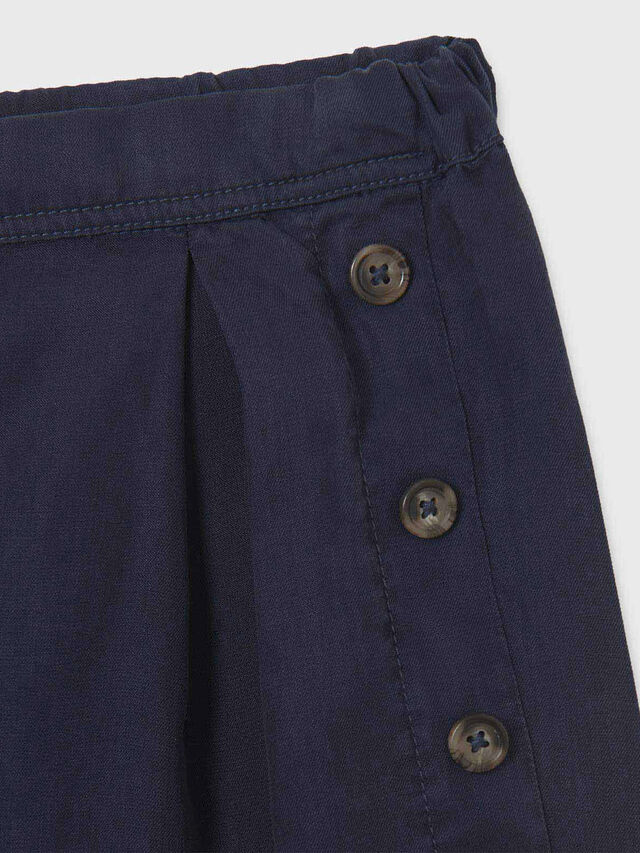 Button Detail Shorts