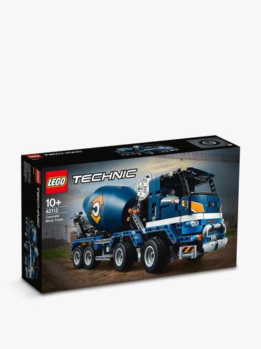 Technic Concrete Mixer Truck
