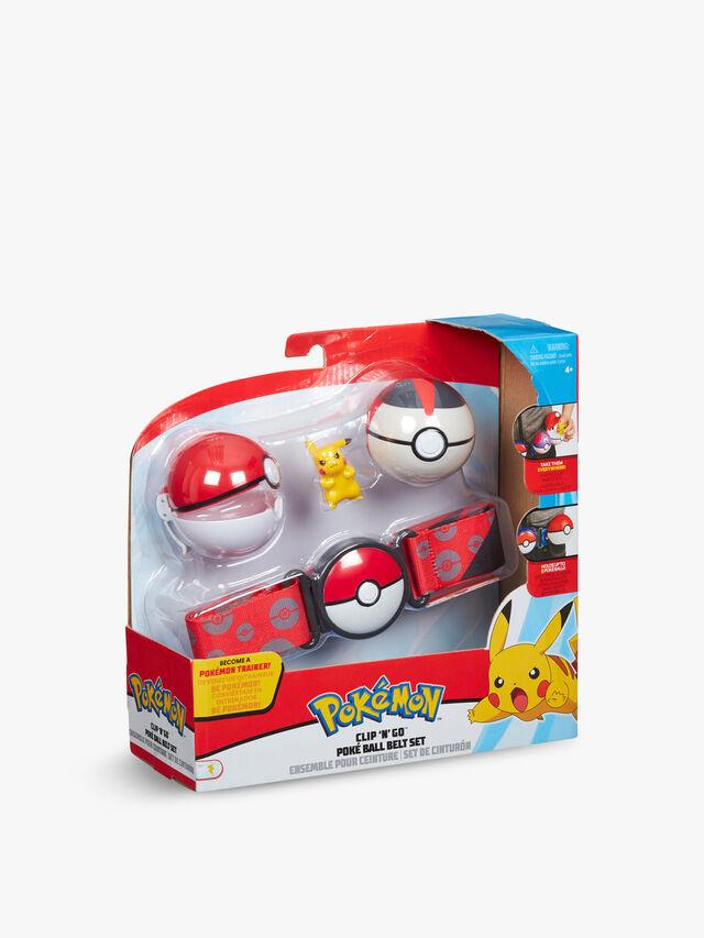 Pokémon Clip 'N' Go Poké Ball Belt Set