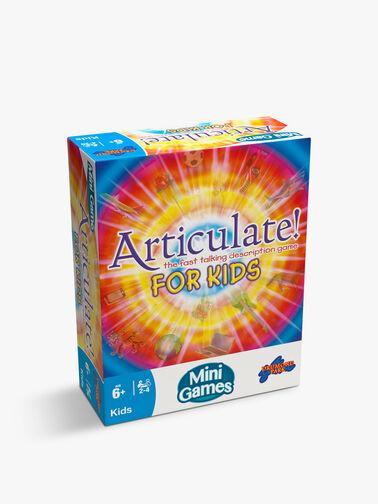 Articulate For Kids Mini Game
