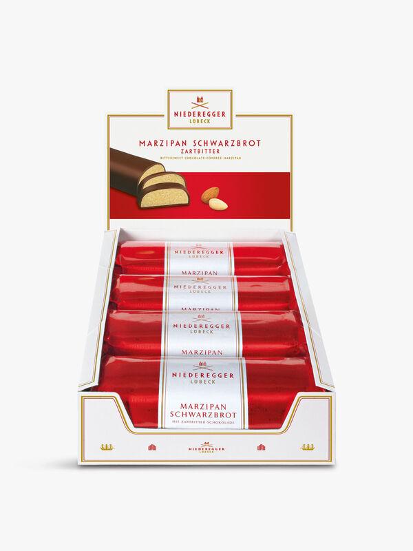 Dark Chocolate Marzipan Bar 200g