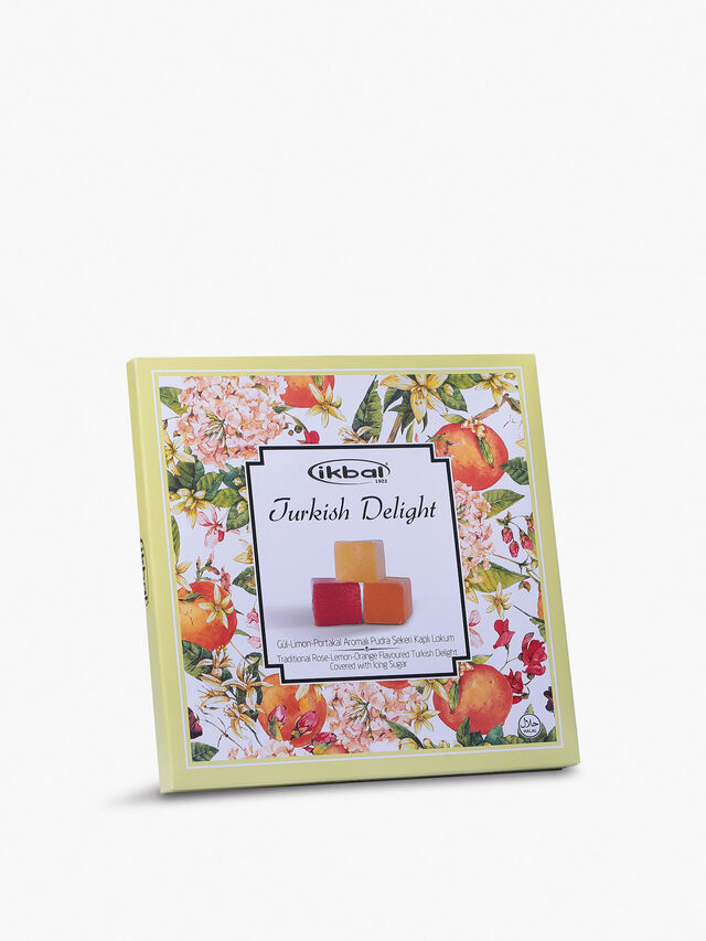 Rose, Lemon and Orange Turkish Delight 300g