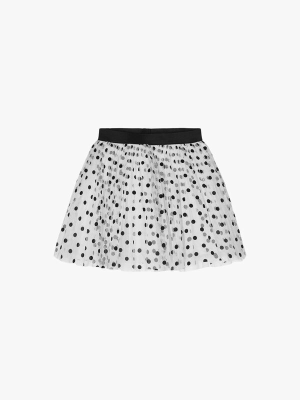 Tulle Spotted Skirt