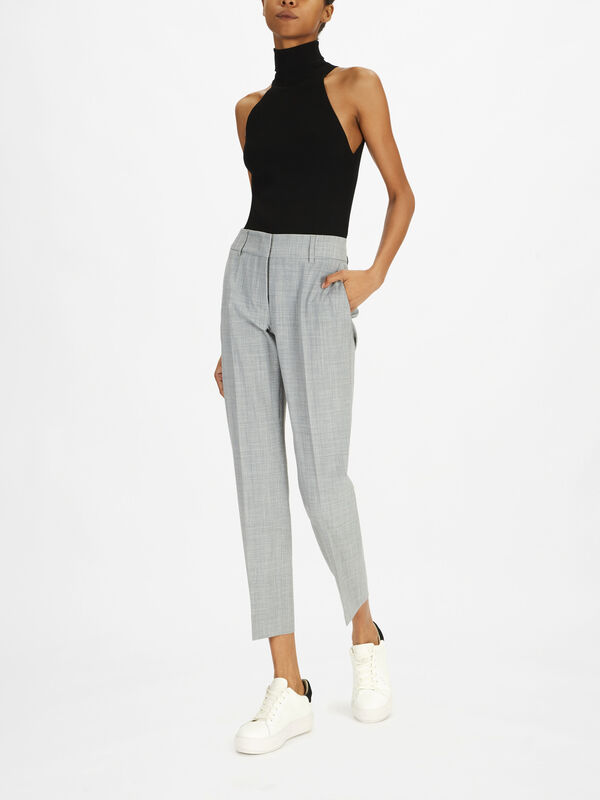 Kim Tropical Wool Trouser
