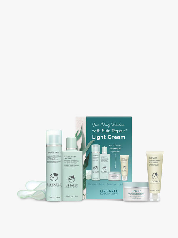 Your Daily Routine with Skin Repair™ Light Cream Kit