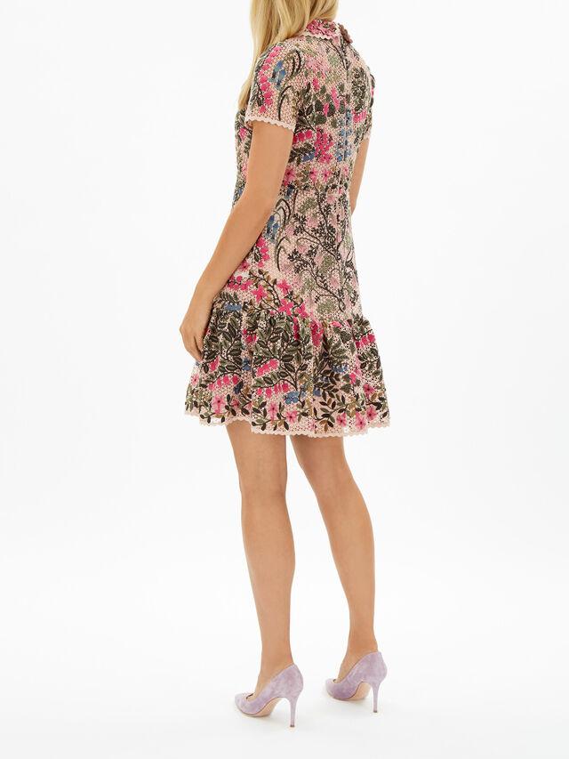 Mid Length Floral Dress