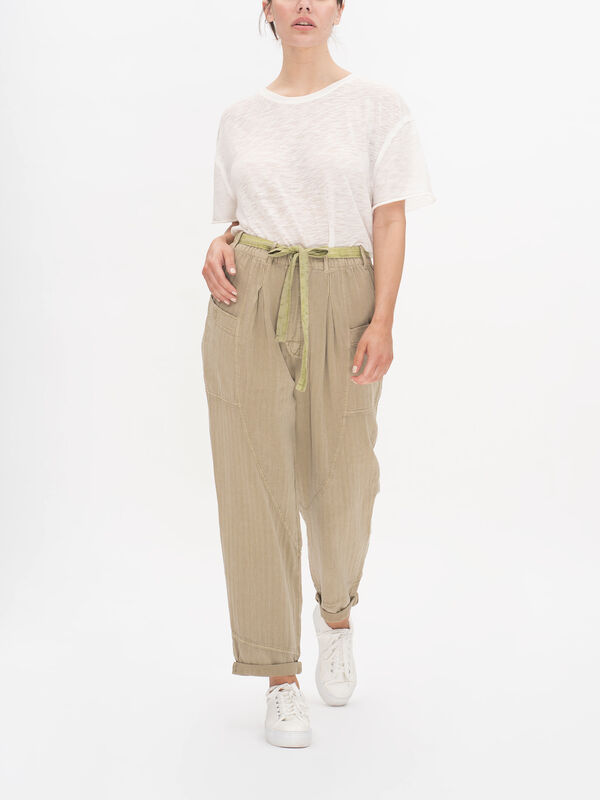 Livin In the City Seamed Casual Trousers