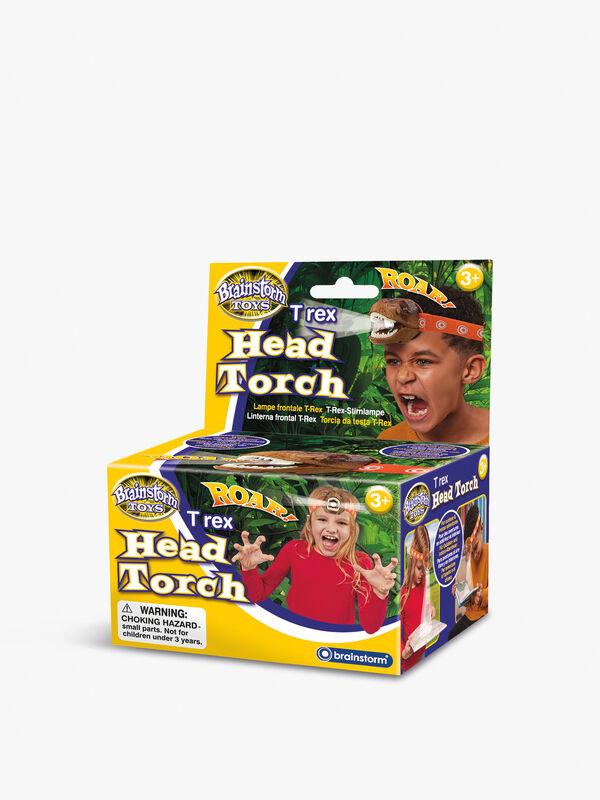 T-Rex Head Torch