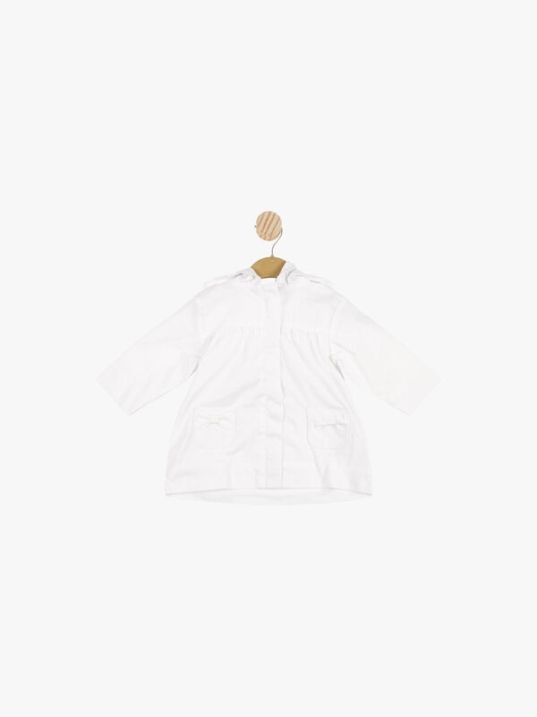 Bow Pocket Coat