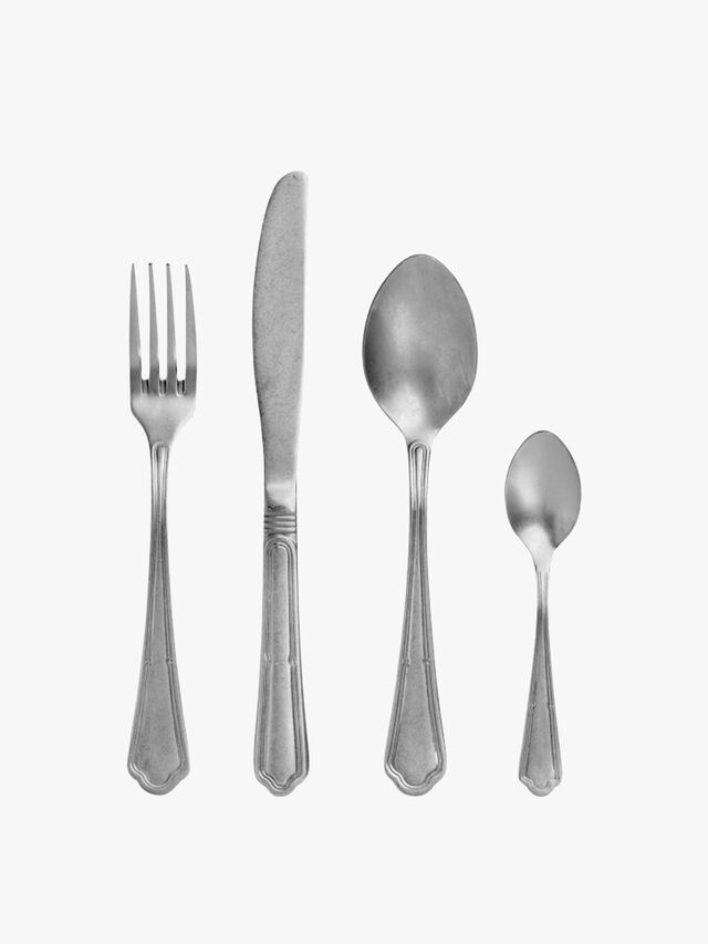 Viva Cutlery Vintage Effect 4 Piece Set