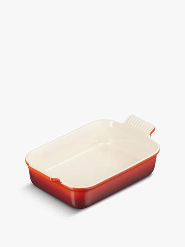 Deep Rectangular Dish 26cm 2.4l