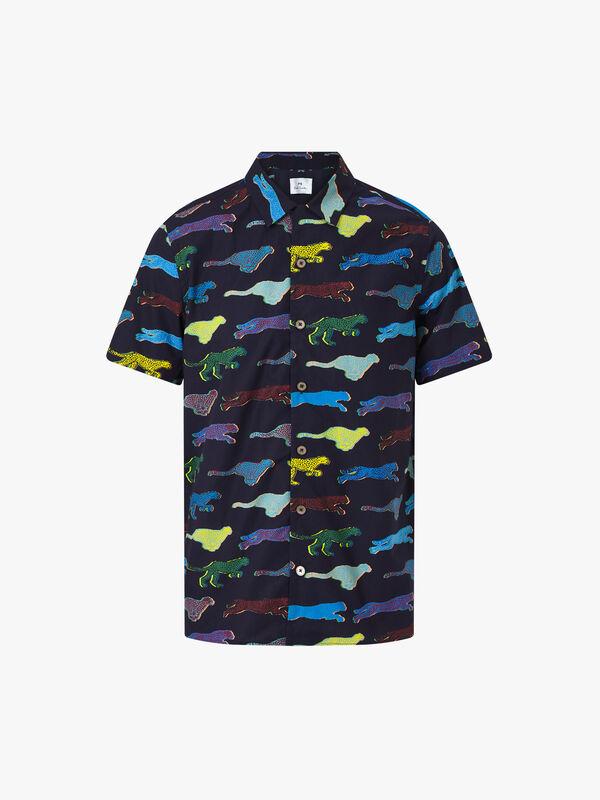 Live Faster Print Shirt
