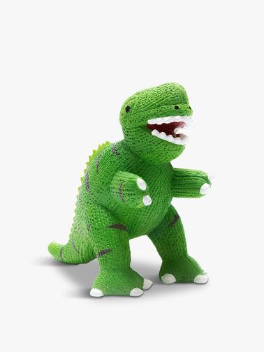Rubber Mini T-rex Teether