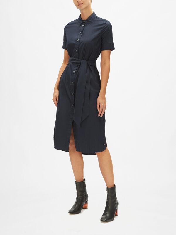 Reisa Short Sleeve Shirt Dress
