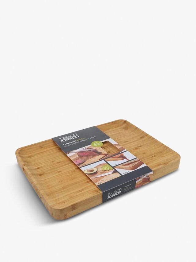 Cut & Carve Bamboo Chopping Board