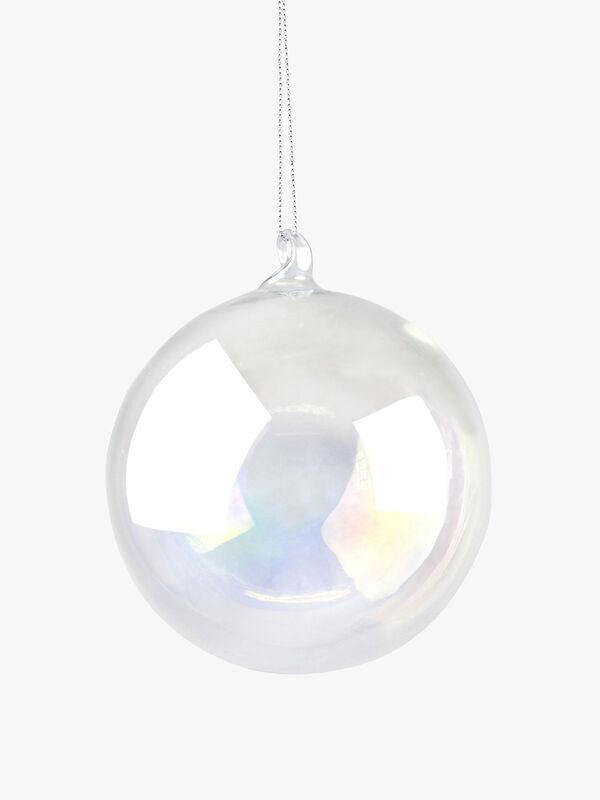 Soap Bubble Christmas Decoration