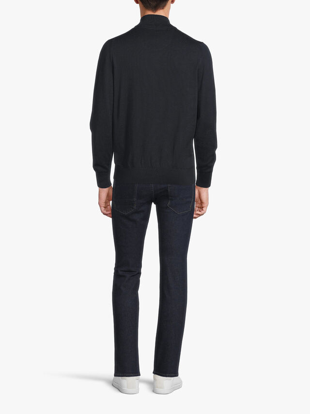 Tain Half Zip Sweater