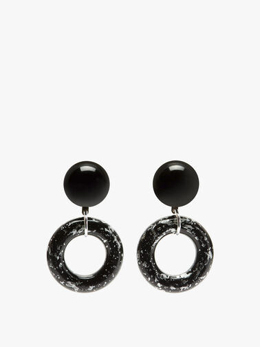 Medium Open Circle Earings