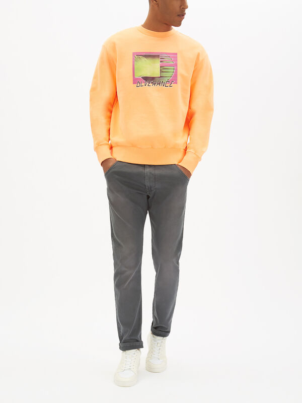 Graphic Neon Sweatshirt