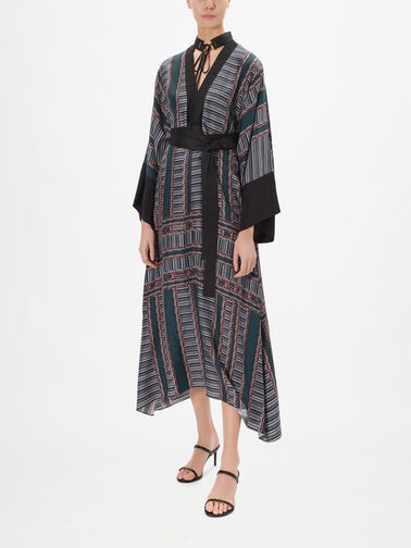 Textured-Stripe-Print-Tie-Neck-Dress-0001180990