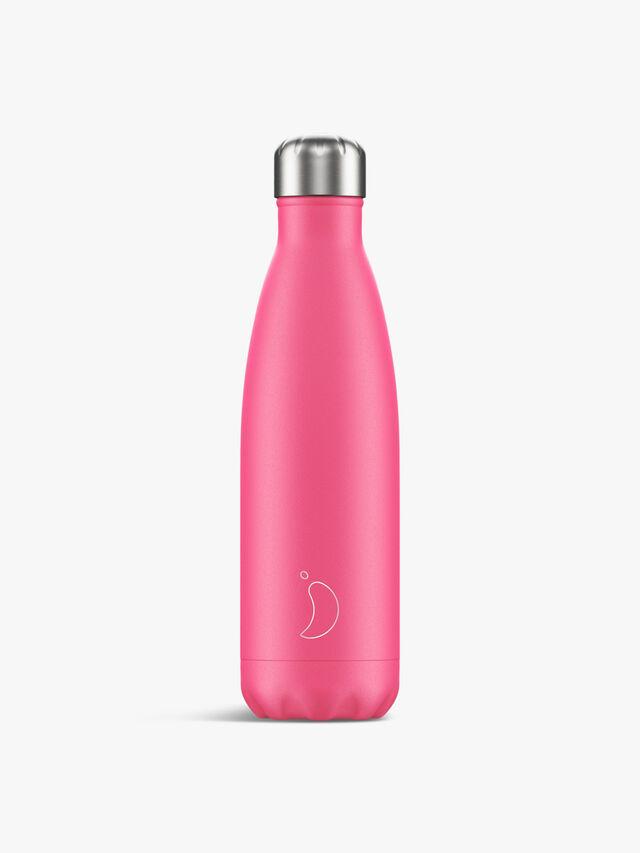 Neon Pink Water Bottle 500ml