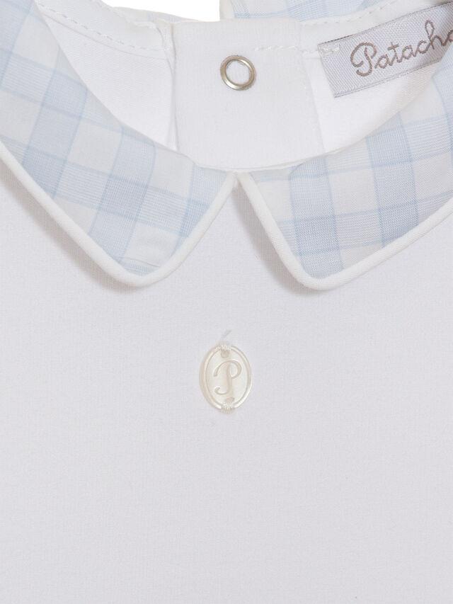 Gingham Collar Bodysuit