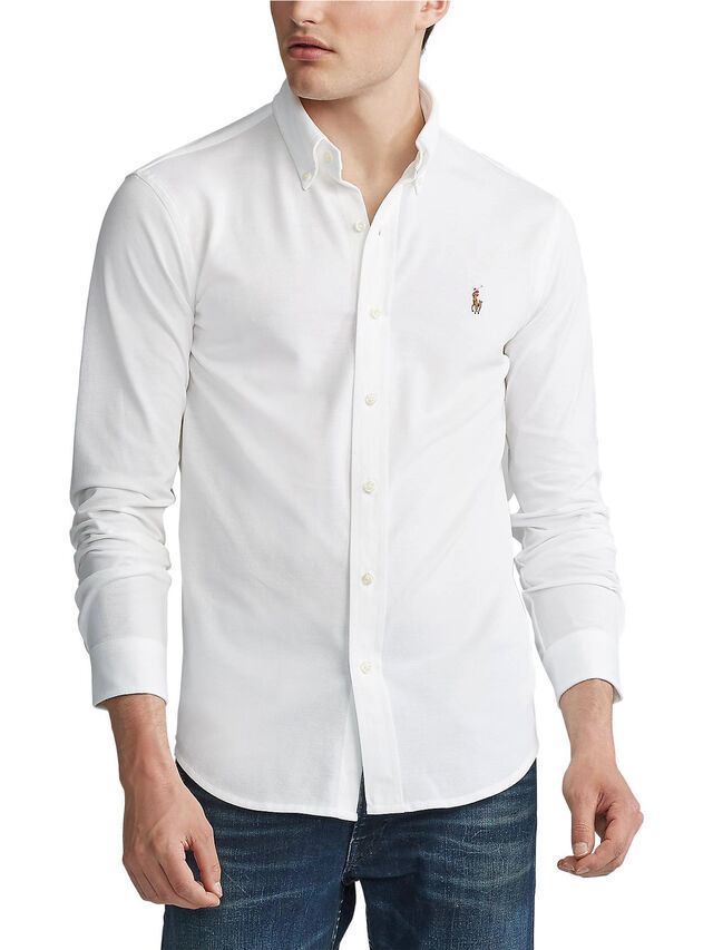 Slim Fit Pique Shirt