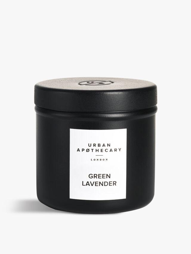 Green LavenderLuxury Travel Candle