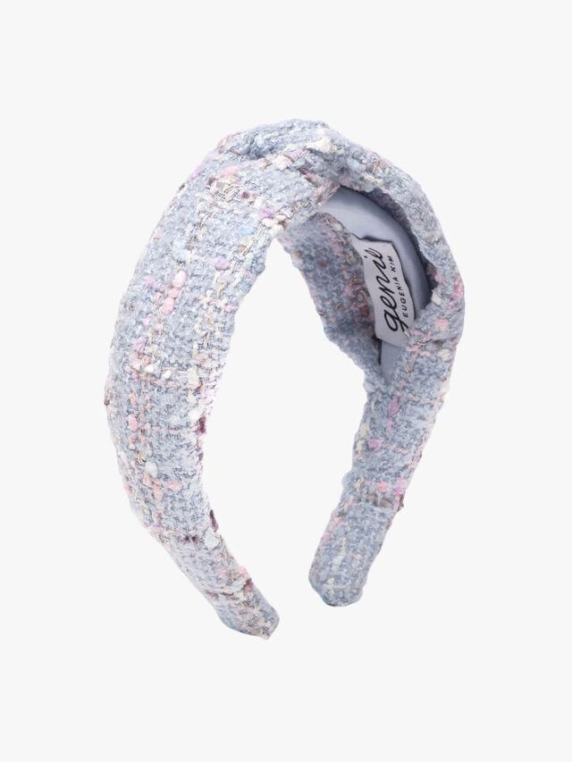 Halle Tweed Knot Headband